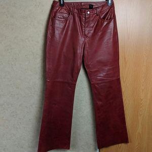 Pants - Express World Brand size 11/12 leather pants